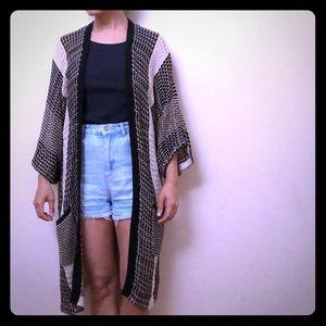 Lucky Brand kimono-style cardigan sz. S